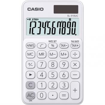 Kalkulačka Casio SL 310 UC WE bílá