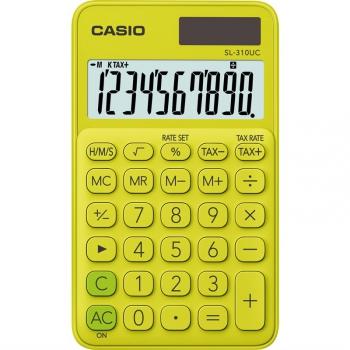Kalkulačka Casio SL 310 UC YG žlutá
