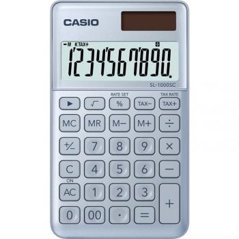 Kalkulačka Casio SL 1000 SC BU - světle modrá