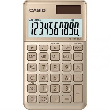 Kalkulačka Casio SL 1000 SC GD zlatá
