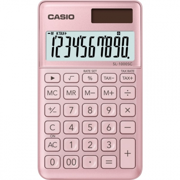 Kalkulačka Casio SL 1000 SC PK růžová