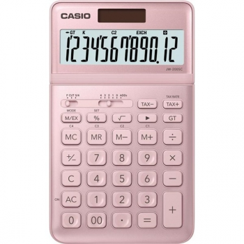 Kalkulačka Casio JW 200 SC PK růžová