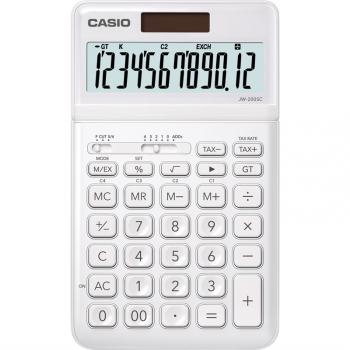 Kalkulačka Casio JW 200 SC WE bílá