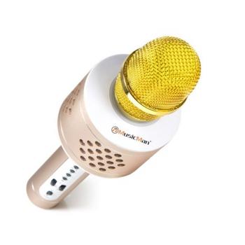 Přenosný reproduktor Technaxx BT-X35 s reproduktory a Bluetooth stříbrný/zlatý