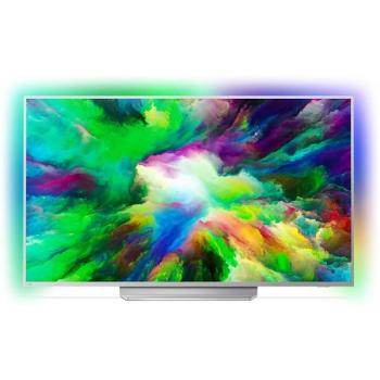 Televize Philips 49PUS7803 stříbrná