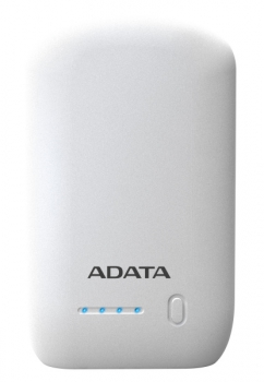 Powerbank ADATA P10050 10050mAh bílá