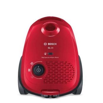 Podlahový vysavač Bosch BGB2UA330 červený