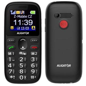Mobilní telefon Aligator A510 Senior černý