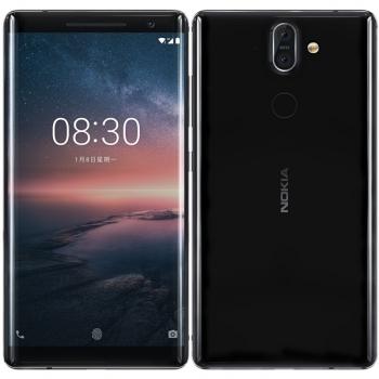 Mobilní telefon Nokia 8 Sirocco černý