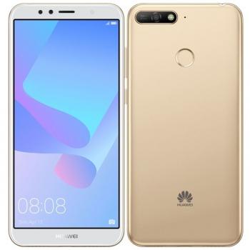 Mobilní telefon Huawei Y6 Prime 2018 Dual SIM zlatý + dárek