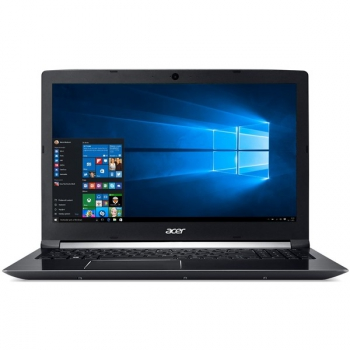 "Notebook Acer Aspire 7 (A715-72G-72Z5) černý (i7-8750H, 8GB, OPT 16 GB, 1000 + 16 GB, 15.6"", Full HD, bez mechaniky, nVidia GTX 1050, 4GB, BT, FPR, CAM, W10 Home )"