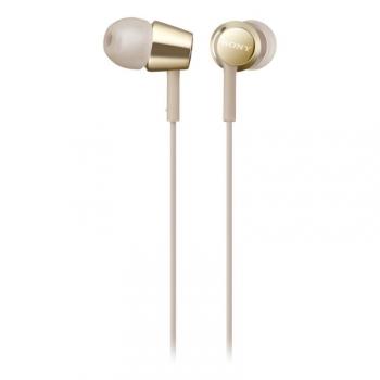 Sluchátka Sony MDR-EX155APN zlatá