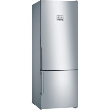 Chladnička s mrazničkou Bosch KGN56HI3P nerez