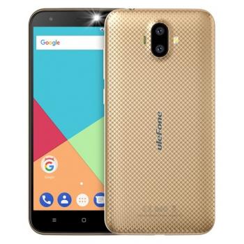 Mobilní telefon UleFone S7 Pro Dual SIM zlatý
