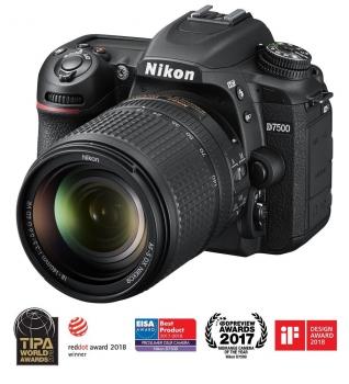 Digitální fotoaparát Nikon D7500 + 18-140 AF-S VR černý