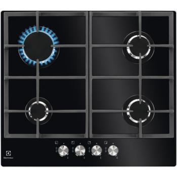 Plynová varná deska Electrolux Inspiration KGG6426K černá