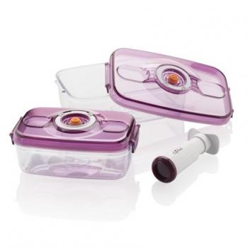 Dóza na potraviny Gallet Narbonne MSV250BOX fialové/průhledné
