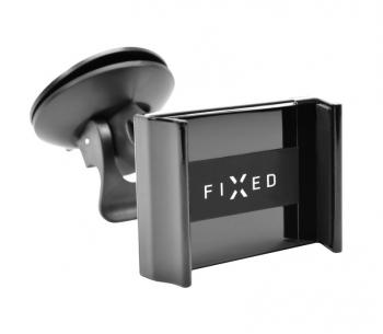 Držák na mobil FIXED FIX3 na palubní desku a sklo černý