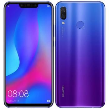 Mobilní telefon Huawei nova 3 fialový