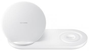 Bezdrátová nabíječka Samsung duální (EP-N6100) bílá