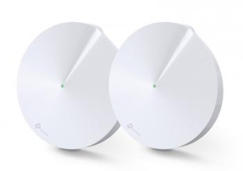 Komplexní Wi-Fi systém TP-Link Deco P7 AC1300 Hybrid Mesh WiFi system, 2 Pack bílý