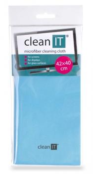 Utěrka Clean IT z mikrovlákna, velká světle modrá