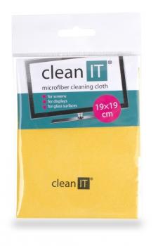 Utěrka Clean IT z mikrovlákna, malá žlutá