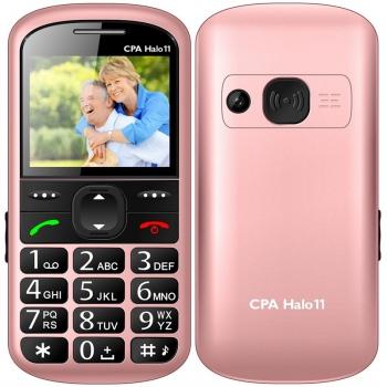 Mobilní telefon CPA Halo 11 Senior růžový