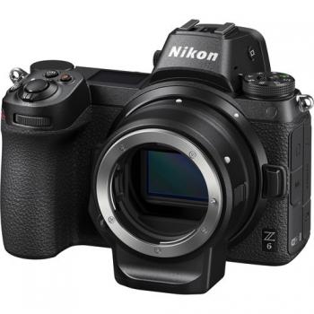 Digitální fotoaparát Nikon Z6 + adaptér bajonetu FTZ KIT černý + dárek