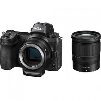 Digitální fotoaparát Nikon Z6 + 24-70 + adaptér bajonetu FTZ KIT černý