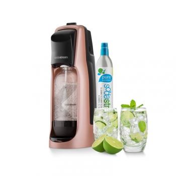 Výrobník sodové vody SodaStream Jet PREMIUM RŮŽOVÝ růžový