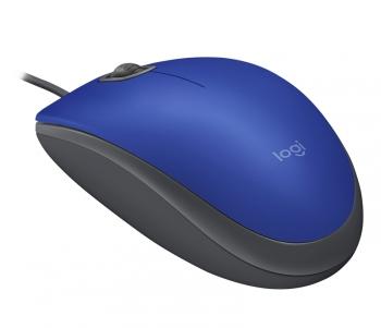 Myš Logitech M110 Silent modrá