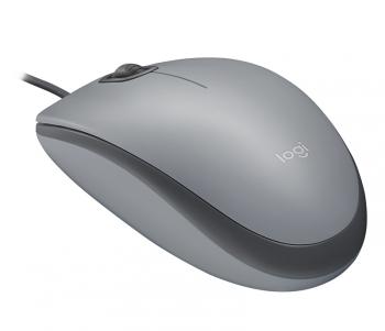 Myš Logitech M110 Silent šedá
