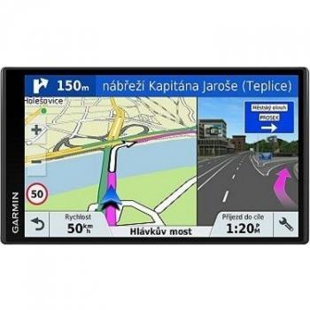 Navigační systém GPS Garmin DriveSmart 61S Lifetime Europe45 černá