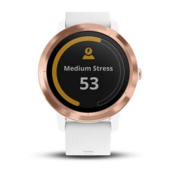 Chytré hodinky Garmin vívoActive3 Optic bílé/zlaté