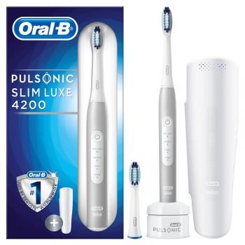 Zubní kartáček Oral-B Pulsonic SLIM LUXE 4200  bílý + dárek