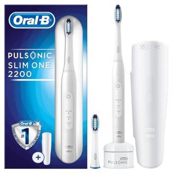 Zubní kartáček Oral-B Pulsonic SLIM ONE 2200  bílý + dárek