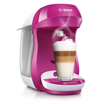 Espresso Bosch Tassimo Happy TAS1001 bílé/fialové