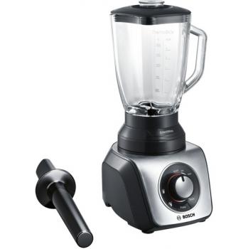 Stolní mixér Bosch SilentMixx Pro MMB65G5M černý/stříbrný