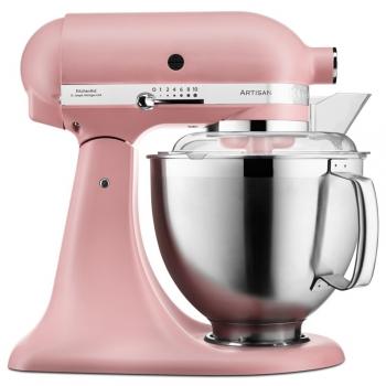 Kuchyňský robot KitchenAid Artisan 5KSM185PSEDR růžový