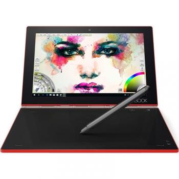 Dotykový tablet Lenovo YOGA Book červený + dárek