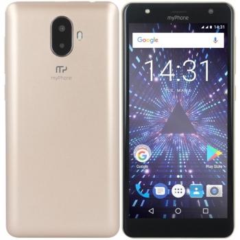 Mobilní telefon myPhone Pocket 18x9 zlatý + dárky