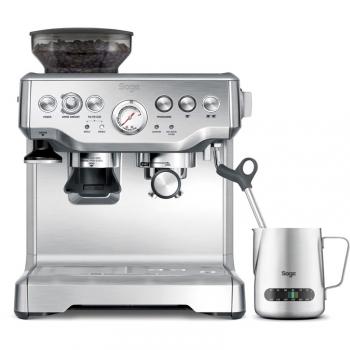 Espresso SAGE BES875BSS stříbrné
