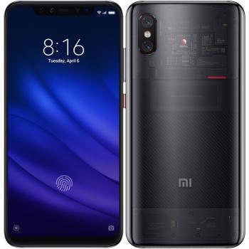 Mobilní telefon Xiaomi Mi 8 Pro Transparent Titanium + dárek
