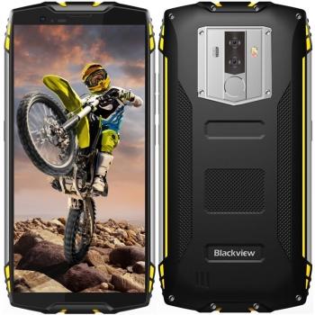 Mobilní telefon iGET BLACKVIEW GBV6800 PRO černý/žlutý + dárek