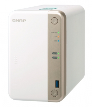 Datové uložiště (NAS) QNAP TS-251B 2G bílé
