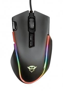 Myš Trust GXT 188 Laban RGB černá