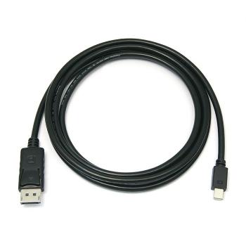 Kabel PremiumCord Mini DisplayPort / DisplayPort, M/M, 1m černý