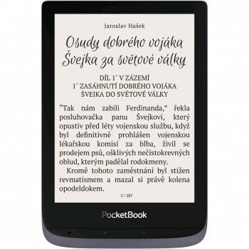 Čtečka e-knih Pocket Book 632 Touch HD 3 - Metallic Grey
