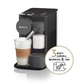 Espresso DeLonghi Nespresso Lattissima One EN500.B černé